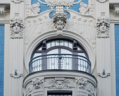 Art Deco, Riga, gamleby, Unesco Verdensarven, Latvia, Baltikum