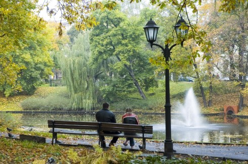 Parker, Riga, gamleby, Unesco Verdensarven, Latvia, Baltikum