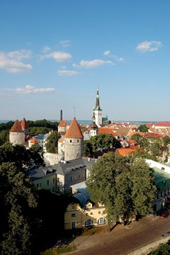 Slottsborgen, Riga, gamleby, Unesco Verdensarven, Latvia, Baltikum