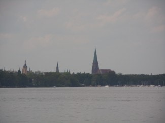 Schwerin, Schweriner See, Zippendorf beach, Nord-Tyskland