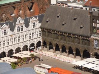 Rathaus, rådhuset, Lübeck, middelalder, Unescos liste over Verdensarven, Nord-Tysklandd
