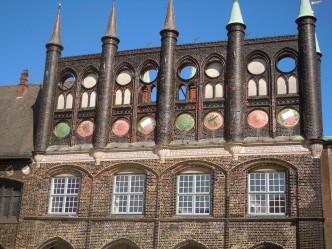 Rathaus, rådhuset, Lübeck, Altstadt, Unescos liste over Verdensarven