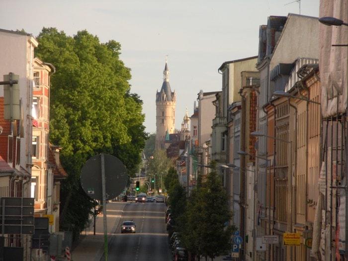 Schwerin, Altstadt, Schweriner Schloss, Nord-Tyskland