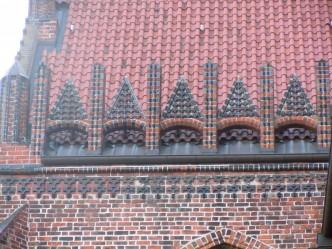 Wismar, Nikolaikirche Wismar, Frische Grube, Østersjøen, middelalder, Backsteinsgotik, Ostsee, Unesco Verdensarv, Gamlebyen, Altstadt, Hansestadt Wismar, Mecklenburg Vorpommern, Nord-Tyskland