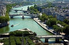 Paris, Seinen, Pont Neuf, Louvre, Tuilerie, obelisken, Ile de Cité, Notre Dame, Ile de France, Unescos liste over Verdensarven, Seinen, Nord-Frankrike, Frankrike