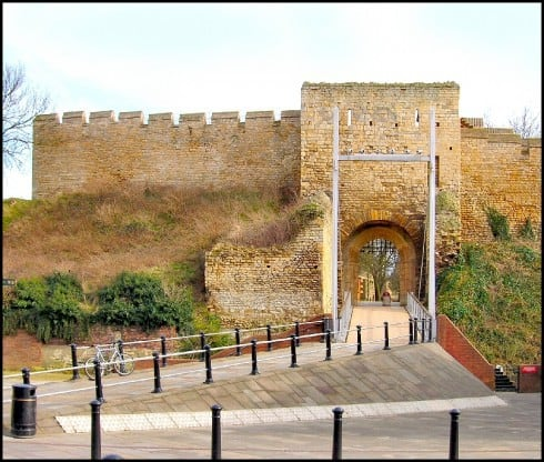 Lincoln, Castle Hill, Lincoln Cathedral, Minster, England, Brayford Pool, romertid, middelalder, Castle Hill, Magna Carta, Steep Hill, Bailgate, early british gothic
