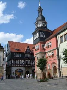 Fra Eisenachs flotte gamleby