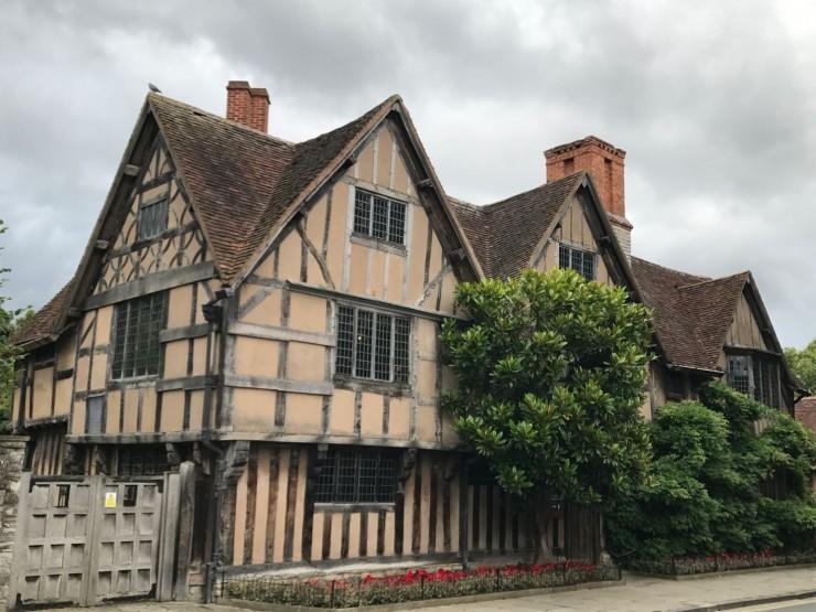Hall's Croft - huset som datteren Susanna fikk i medgift. Foto: © ReisDit.no