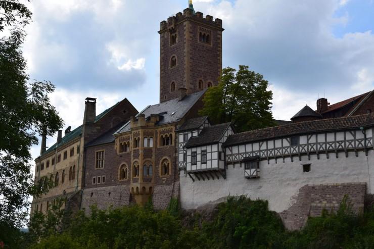 Wartburg er et imponerende skue. Foto: © ReisDit.no