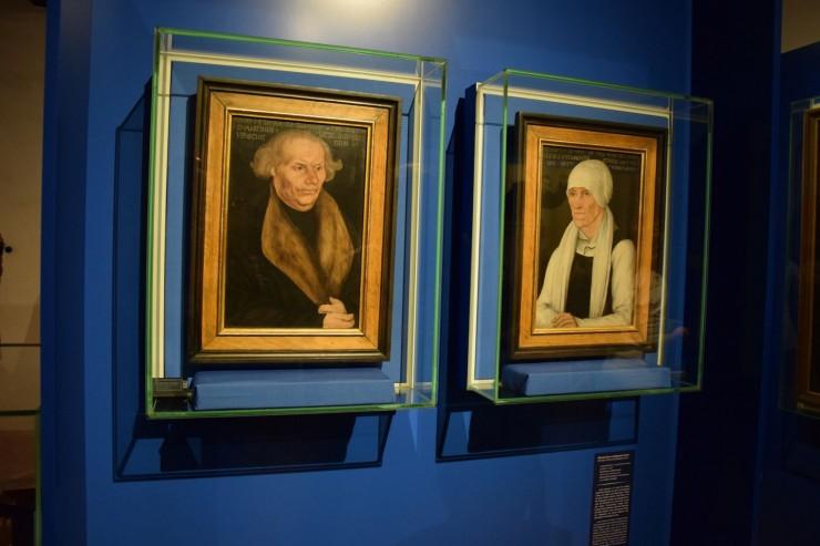 Herr og fru Luther, malt av Ludvig Cranach d. e. Foto: © ReisDit.no