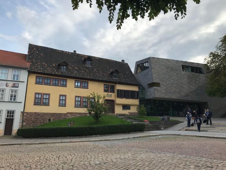 Bachhaus er i dag et påkostet og flott museum. Foto: © ReisDit.no