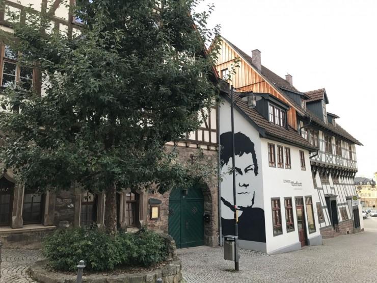 Lutherhaus sett fra oversiden. Foto: © ReisDit.no