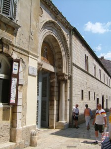 Basilica St Euphrasius, bysantinsk, Porec, gamlebyen, historisk bysenter, Unescos liste over Verdensarven, Istria, Kroatia