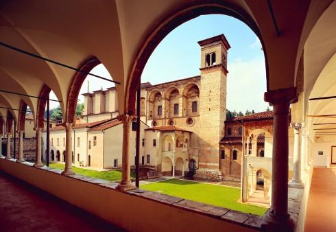 Klosterkirken Santa Guilia, Brescia, Lombardia, Nord-Italia, Italia