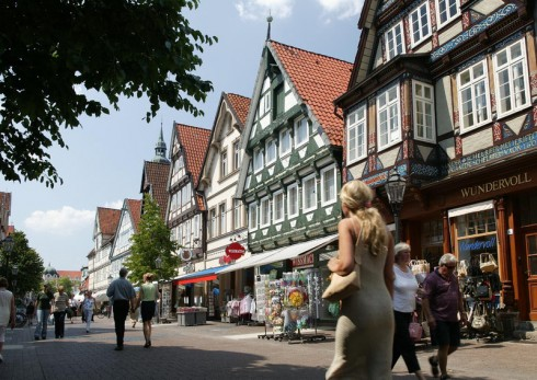 Celle, Nord-Tyskland