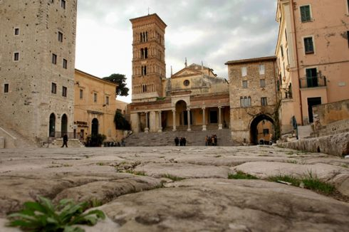 Forum Romanum, Terracina, Lazio, Midt-Italia, Italia