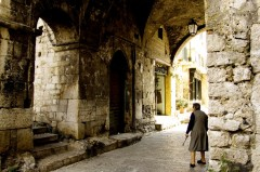 Gamlebyen, historisk bebyggelse, Terracina, Lazio, Midt-Italia, Italia