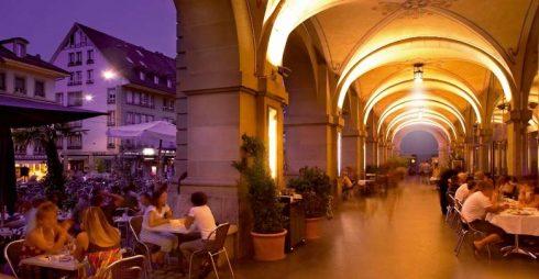 Arkader, Altstadt, Bern, Nord-Sveits, Sveits