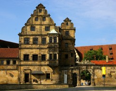 Alte Hofhaltung, Altstadt, Bamberg, Sør-Tyskland, Tyskland