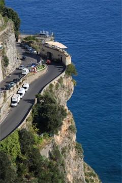 Praiano, Amalfikysten, Sør-Italia, Italia