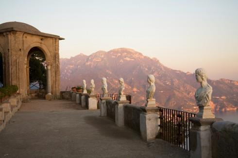 Ravello, Amalfi-kysten, Sør-Italia, Italia