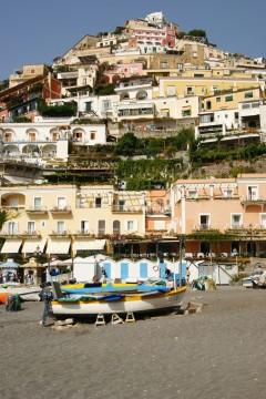 Positano, Amalfikysten, Sør-Italia, Italia