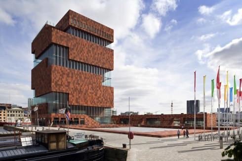 Museum Aan der Strom, Antwerpen, Flandern, Belgia