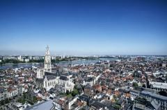 Pnorama, Antwerpen, Flandern, Belgia