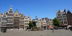 Grote Markt, Antwerpen, Flandern, Belgia