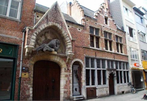 Hoogstraat 72, Antwerpen, Flandern, Belgia