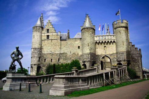 Het Steen, Antwerpen, Flandern, Belgia
