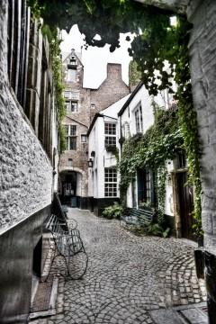 Vlaeykensgang, Antwerpen, Flandern, Belgia