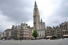 Laugshus, kjøpmannshus, Grote Markt, Antwerpen, Flandern, Belgia