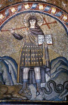 Fra Capella Arcivescovile/Capella di San Andrea, Unesco, Ravenna, Emilia-Romagna, Nord-Italia, Italia