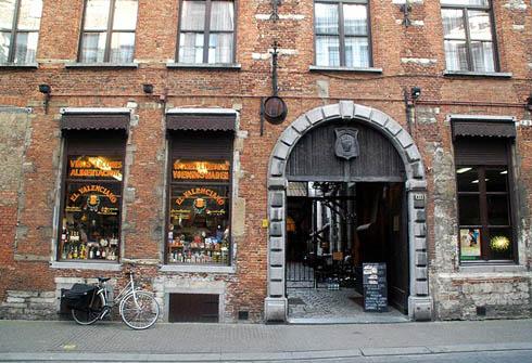 Zirkstraat, renessanse, Grote Markt, Antwerpen, Flandern, Belgia