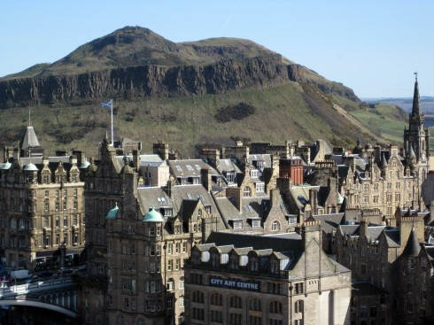 Arthur's Seat, Edinburgh, Skottland, Storbritannia