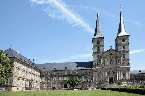 Kloster Michaelsberg, Bamberg, Sør-Tyskland, Tyskland