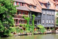 Klein Venedig, Altstadt, Bamberg, Sør-Tyskland, Tyskland