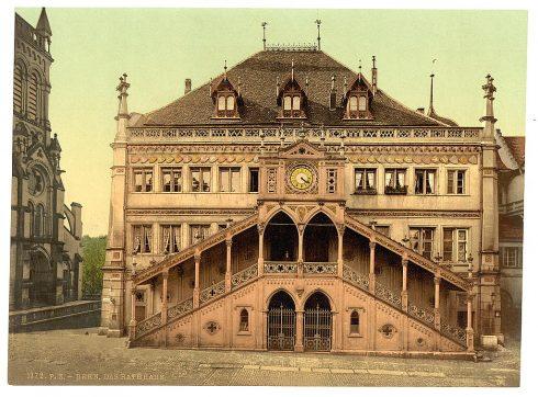 Rathaus, Altstadt, Bern, Nord-Sveits, Sveits