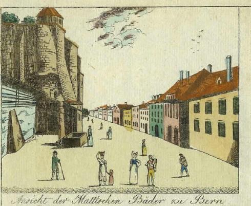Matte, Altstadt, Bern, Nord-Sveits, Sveits