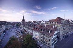 Bundeshaus, Bärenplatz, Waisenhausplatz, Altstadt, Bern, Nord-Sveits, Sveits
