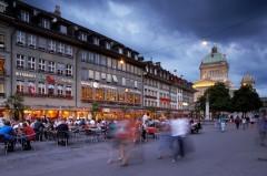 Bundeshaus, Bärenplatz, Altstadt, Bern, Nord-Sveits, Sveits