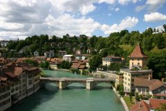 Untertorbrücke, Felsenburgtor, Altstadt, Bern, Nord-Sveits, Sveits