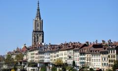 Münsterkirche, Altstadt, Bern, Nord-Sveits, Sveits