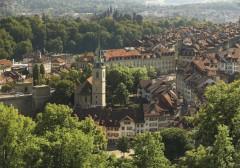 Nydeggkirche, Altstadt, Bern, Nord-Sveits, Sveits
