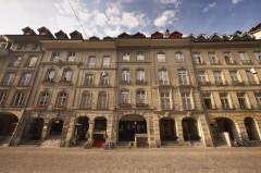Einsteinhaus i Kramgasse 49, Altstadt, Bern, Nord-Sveits, Sveits
