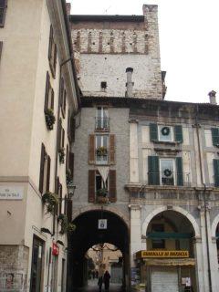 Torre di Porta Brusciata, Brescia, Lombardia, Nord-Italia, Italia