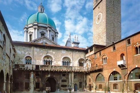 Broletto, Brescia, Lombardia, Nord-Italia, Italia