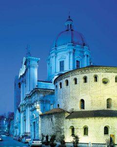 Duomo Vecchia, Duomo Nouvo, Brescia, Lombardia, Nord-Italia, Italia