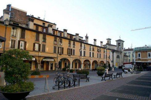 Piazza Mercato, Brescia, Lombardia, Nord-Italia, Italia